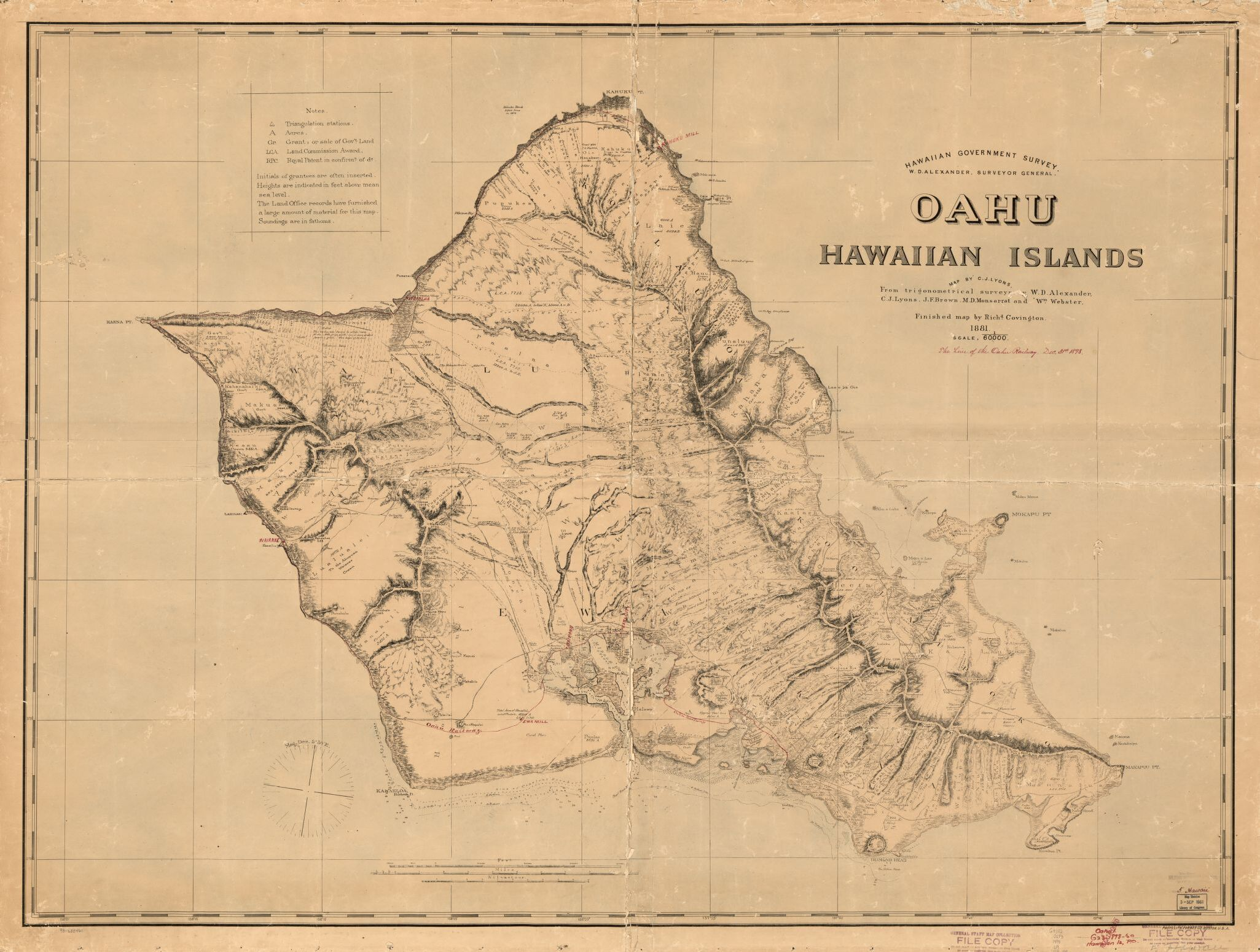 Benjamin Franklin Dillingham and the Oahu Railway and Land Company